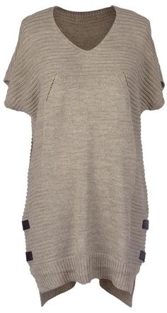 Want to keep warm and trendy? Short Sleeve Sweater is for keeping' ya warm on yer long wandering and eventful journeys! Get more surprised ones at Cupshe.com !