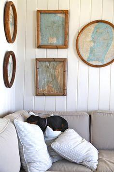 Schooner Bay. My dog.