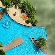 The Haven Resort Hotel Ipoh Perak Malaysia. Couples Vacation, Vacation Resorts, Hotels And Resorts, Beautiful Places To Travel, Beautiful Hotels, Beautiful Beaches, Ipoh, Lakeside Hotel, Infinity Pool