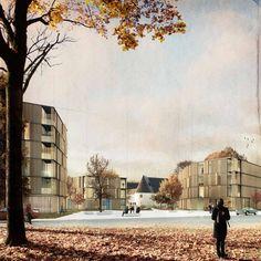 Wettbewerb für den Neubau einer Wohnanlage beim Zeughaus in Innsbruck