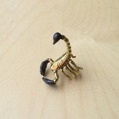 Scorpio Brass Ring - Monserat De Lucca