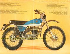 1977 Bultaco Alpina 250 and 350 Road Test / Specs | Vintage Bultaco ...