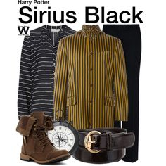 Inspired by Gary Oldman as Sirius Black in the Harry Potter film franchise.