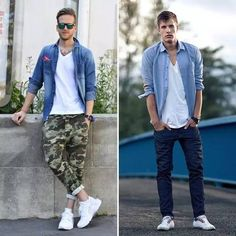 「白鞋白 T」穿搭全攻略!我可以穿出學院街頭、暖男風格、都市型男三種風格 - JUKSY 流行生活網