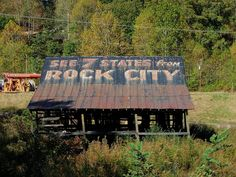 Rock City Barn by ontheopenroad, via Flickr