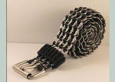 pulseira de lacre de latinha passo a passo | ... Dicas Práticas de como Reciclar Anéis do Lacre de Latas de Alumínio