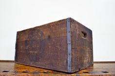 Antique Pabst Crate Pabst Brewing $295.00 so interesting gahh
