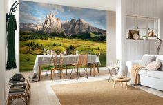 Fototapet Peisaje - Panorama din Alpi pentru decorare pereti, cu aplicare usoara si culori rezistente in timp. Comanda online pe aa-design-interior.ro.