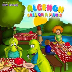 Algenon Goes On A Picnic by Kim Chase | MagicBlox Online Kid's Book