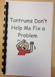 Tantrums Don't Help Me Fix a Problem is a social story created by TAP. This particular social story is written to help children understand why tantrums will not fix their problem. It also hel…
