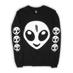 Skrillex 'Recess LS' T-Shirt / Unisex | Skrillex official storefront powered by Merchline Band Outfits, Edgy Outfits, Outfits For Teens, Cool Outfits, How To Make Clothes, Perfect Wardrobe, Band Merch, Birthday Wishlist, Kawaii