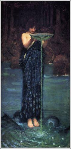 Circe by Waterhouse