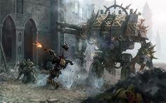 40k - Advance of the Iron Warriors
