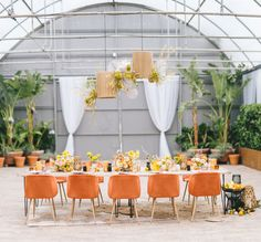 Citrus Zest: How to Bring Yellow Into Modern Wedding Design   Green Wedding Shoes