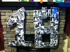 Ursprüngliche Idee für Geburtstagsjubiläum 18 - other - Birthday Birthday Photo Collage, Birthday Photos, Birthday Table, 60th Birthday Party, 18th Birthday Cake For Guys, Birthday Ideas, Birthday Celebration, 18th Party Ideas, 18 Birthday Party Decorations