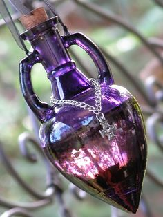 Sacred Witches Power Potion for Spells and Magick . Pagan Wicca Witchcraft. $39.95, via Etsy.