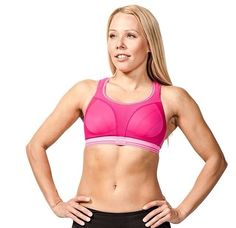 The Ultimate Run Bra | Take your run to the next level. Available in Pink or Black www.bodiccea.com.au