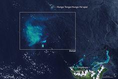 Underwater Eruption Near Tongatapu, Tonga