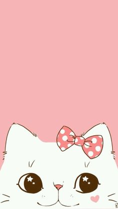Kitty ★ Find more super cute Kawaii wallpapers for your #iPhone + #Android @prettywallpaper