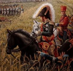 NAP- France: Detail from the Battle of Waterloo, by José-Ferré Clauzel. Waterloo 1815, Battle Of Waterloo, French Pictures, Colonel, War Film, French History, French Army, Army & Navy, Napoleonic Wars