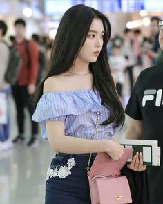 Find images and videos about kpop, red velvet and irene on We Heart It - the app to get lost in what you love. Kpop Fashion, Korean Fashion, Girl Fashion, Fashion Outfits, Airport Fashion, Red Velvet Irene, Velvet Fashion, Kpop Outfits, Seulgi
