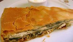 Τυρόπιτα με μακεδονική σφολιάτα της κας Άννας   TasteFULL.gr Savory Muffins, Savory Tart, Sweets Recipes, Cooking Recipes, Cypriot Food, Greek Pita, Greek Cooking, Dessert, Spanakopita