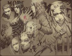 Moleskine - Alone by FinalKnight6