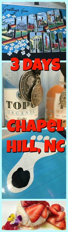 3 Days in Chapel Hill, NC - What to Do, Where to Stay, What to Eat and more! How to enjoy a long weekend vacation in this iconic North Carolina town. Chapel Hill North Carolina, Chapel Hill Nc, Family Friendly Cruises, Visit Nc, Weekend Vacations, Us Travel Destinations, Spring Break, Summer, World Traveler
