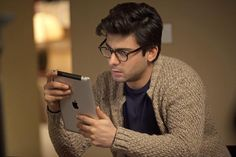 Glasses and cardigans have never been this cool :D Fawad in Kapoor and Sons Bollywood Quotes, Bollywood Actors, Fawad Khan Beard, Kapoor And Sons, Handsome Celebrities, Man Crush Everyday, Pakistani Actress, Cool Haircuts, Deepika Padukone