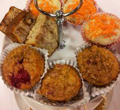 Frambozen havermout muffins