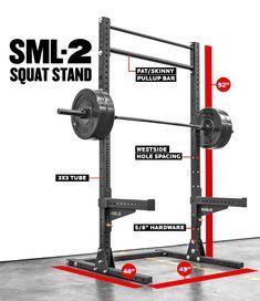"SML-2 Rogue 90"" Monster Lite Squat Stand"