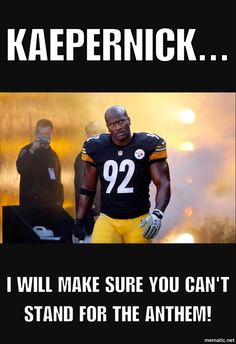 That Story About James Harrison Threatening Any Teammate Who Sits For The Anthem Is Bogus Pitsburgh Steelers, Here We Go Steelers, Pittsburgh Steelers Football, Pittsburgh Sports, Steelers Stuff, Football Team, Football Stuff, Broncos, Nfl Memes