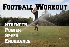 Football Conditioning Workout-20 Exercises to make you a BEAST on the fi...