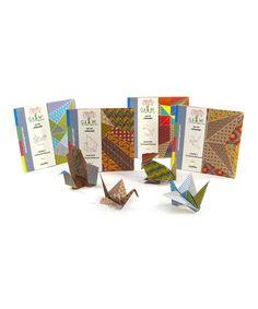 Look at this #zulilyfind! Pattern Gami Bird Kit Set #zulilyfinds