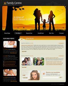 Family Center Website Templates by Mira Joomla Templates, News Blog, Website Template
