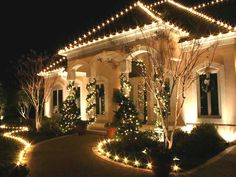 Christmas Lights Installation Professional Outdoor
