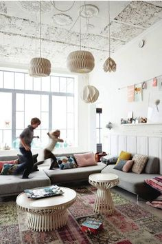Love this whimsical playroom.