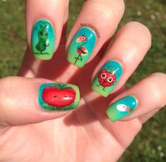 Nailpolis Museum of Nail Art   Cloudy with a Chance of Meatballs 2 by Lena