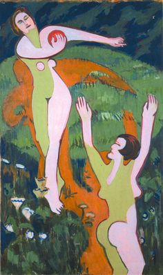 Les Illusions perdues (Ernst Ludwig Kirchner (German,...)