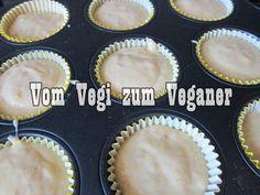 Vom Vegi zum Veganer: BANANENMUFFINS MIT SCHOKOFÜLLUNG