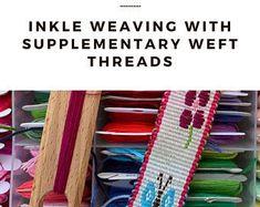 Inkle Weaving Patterns by inkleweavingpatterns on Etsy Inkle Weaving Patterns, Loom Weaving, Hand Weaving, Inkle Loom, Crochet Triangle, Woven Scarves, Make A Donation, Up Styles, Woven Rug