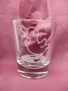 Duckling Themed Shot Glass, Custom Engraved per your order