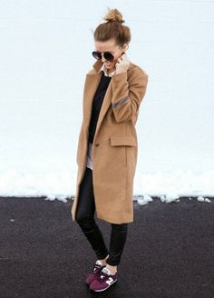 camel-coat-street-style-sneaker-casual
