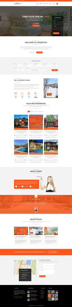 LANDESTATE – Properties/Real Estate PSD template | Download: https://themeforest.net/item/landestate-propertiesreal-estate-template/16689360?ref=sinzo