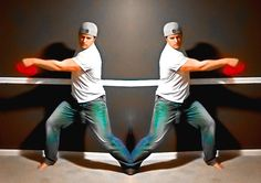 Adjusting your disc golf throwing form using a mirror to set how your muscles feel