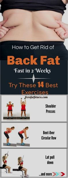 How to Get Rid of Back Fat Fast in 2 Weeks-Try These 14 Exercises How to Get Rid. to Get Rid of Back Fat Fast in 2 Wee. Lose Weight Fast Diet, Weight Loss Detox, Losing Weight Tips, Loose Weight, Weight Loss Blogs, Weight Loss Motivation, Workout Motivation, How To Slim Down, How To Get Rid