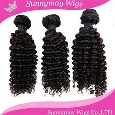 Wholesale Price Malaysian Virgin Hair 10-26inch Kinky Curly Human Hair Weave In Stock