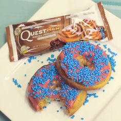 Quest Bar Donuts #onaquest #15SecondRecipe
