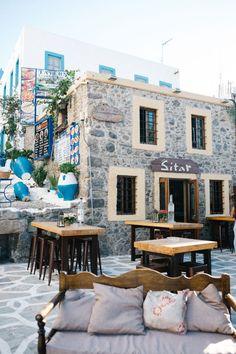 Greece Travel Inspiration - Sitar Cafe in Kos Island Greece
