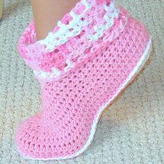 CROCHET KIDS SLIPPERS - Crochet — Learn How to Crochet